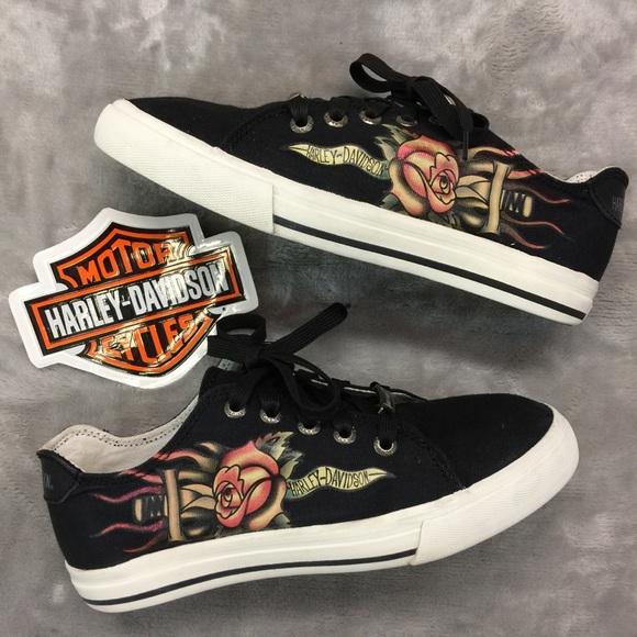 53cf6ca026ff Harley-Davidson Shoes - Harley Davidson Ladies Sneakers